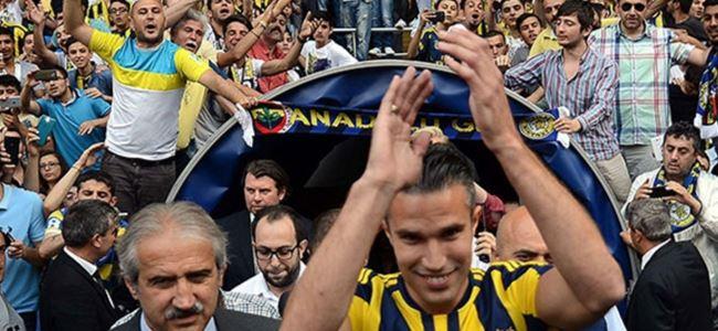Fenerbahçe'ye Van Persie müjdesi