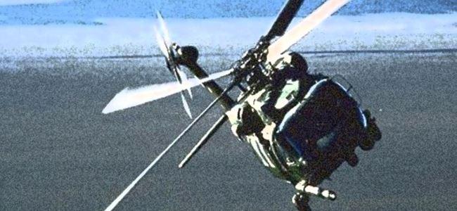 Japonya'da Amerikan helikopteri düştü