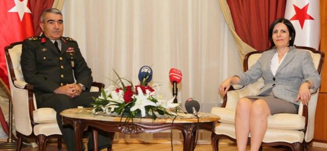Başbakan Siber, Korgeneral Savaş'ı Kabul Etti