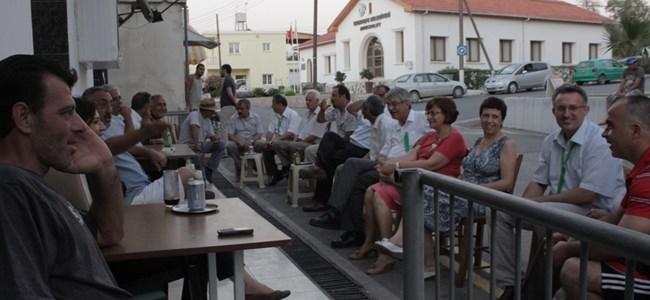 CTP-BG adayları Girne bölgesini gezdi