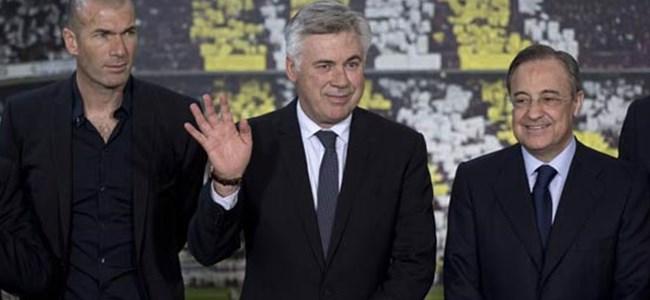 Ancelotti basına tanıtıldı