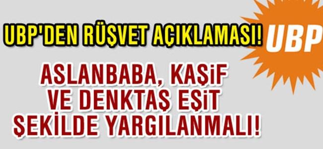 UBP: Aslanbaba