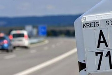 Almanya'nın en pahalı otobanı trafiğe açıldı
