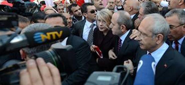 Kılıçdaroğlu'na da biber gazı