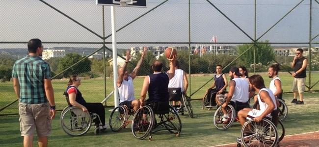 Survivor'da tekerlekli sandalye basketbol maçı