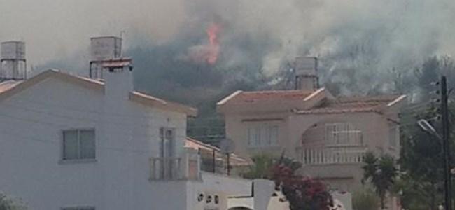 Alsancak'daki Yangın Kontrol Altına Alındı