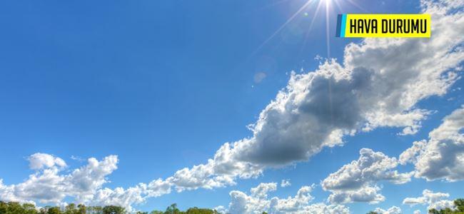 Kıbrıs için 7 günlük hava durumu!