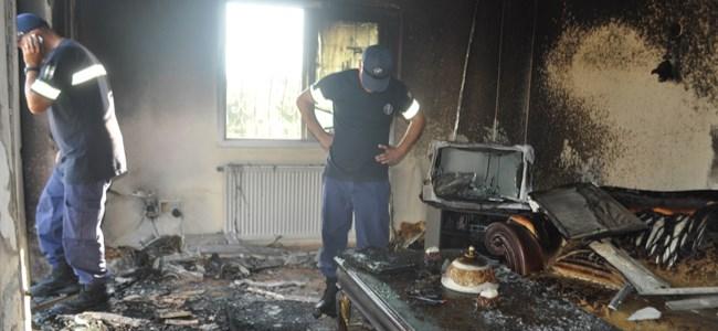 Demirhan'da Ev Yangını!