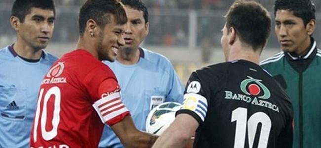 Messi ve Neymar karşı karşıya!