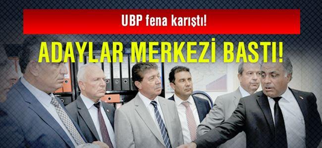 UBP fena karıştı!
