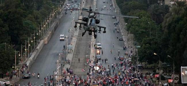 Mısır'da helikopterler bomba yağdırdı: 307 yaralı