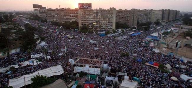 Mısır'dan Mursi'ye destek