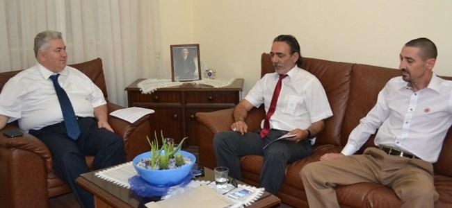 TDP Genel Başkanı Mehmet Çakıcı, Kulüpler Birliği'ni kabul etti