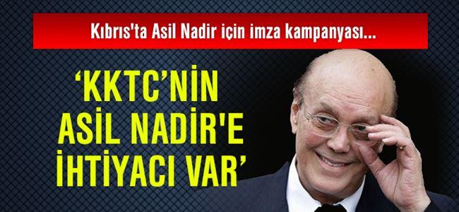 Kıbrıs'ta Asil Nadir için imza kampanyası başlatılıyor