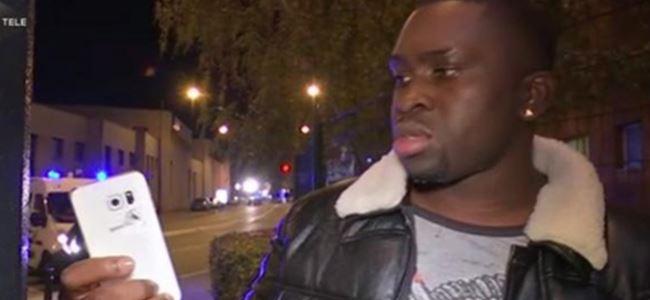 Paris saldırısından cep telefonu sayesinde kurtulan adam!
