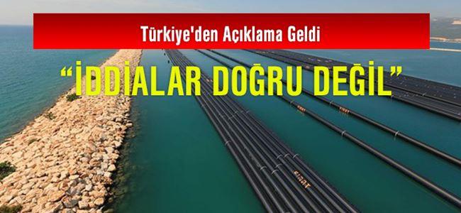 Türkiye'den Açıklama Geldi