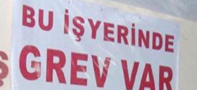 Gazimağusa Posta Şubesi'nde grev