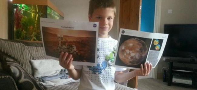 7 Yaşında Mars İçin Başvurdu