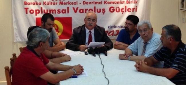 BKP Toplumsal Varoluş Güçleri'den Tepki