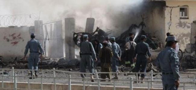 Afganistan'da intihar saldırısı