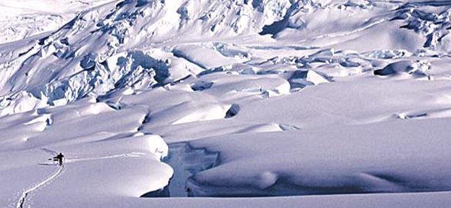 Yürüye yürüye Antartika