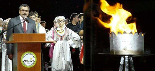 Dikmen'de 11 Meşale Festivali başladı