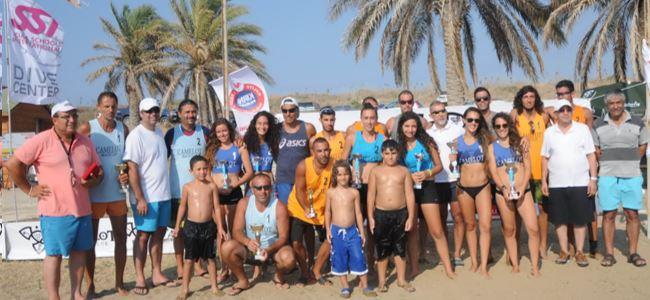 Plajda smaçlar  şampiyonluğa vurdu