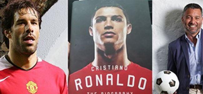 Nistelrooy Ronaldo'ya tekme attı