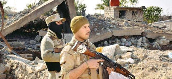 Irak askerleri Ramadi'de