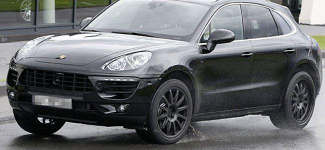 Porsche Macan kamuflajsız yakalandı!