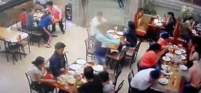 Restoranda dehşet: Kurşun yağdırdı !