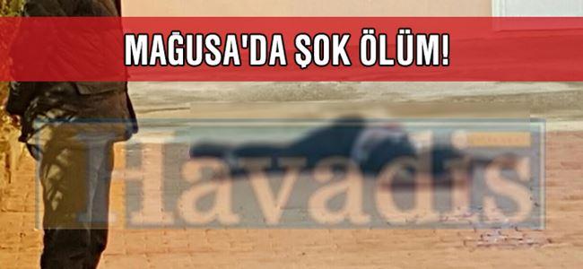 Mağusa'da şok ölüm