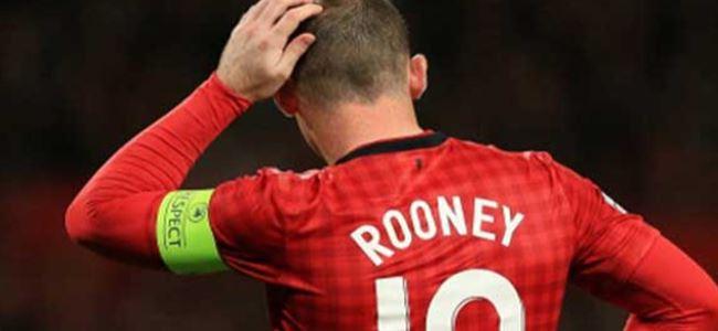 Manchester'da Rooney şoku!