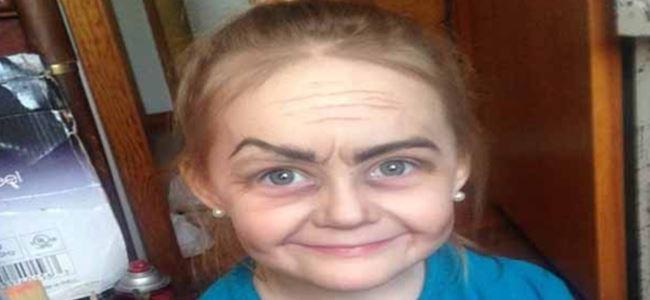3 yaşındaki küçük kızın fotoğrafı viral oldu