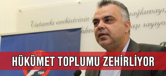 TDP'den hükümete sert eleştiri!