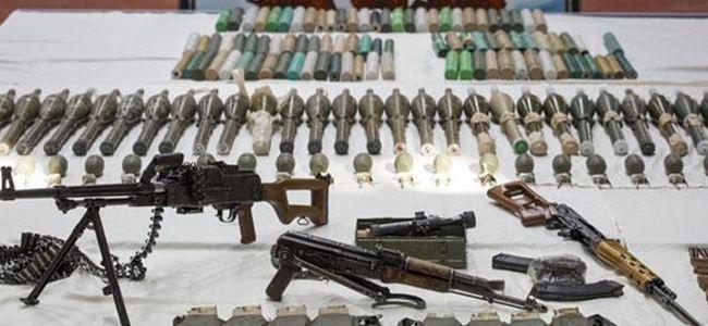PKK'nın cephaneliği ele geçirildi