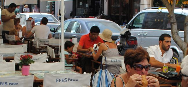 Turistler Girne'yi çok sevdi