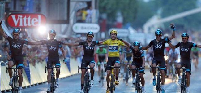 Tour de France'a özel finiş