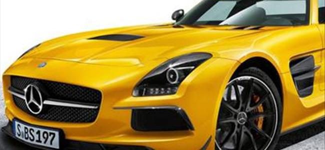 Mercedes-Benz SLS AMG Black Series'i tanıttı