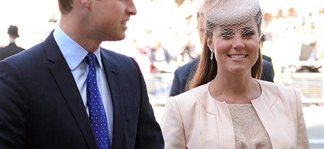 Kate Middleton doğuma alındı