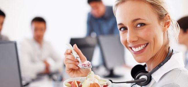 İş hayatında başarılı beslenmenin püf noktaları