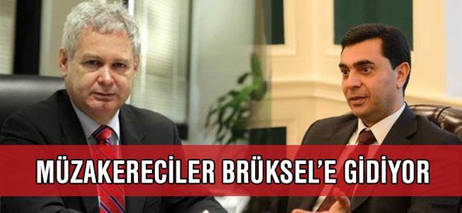 Müzakereciler Brüksel'e gidiyor