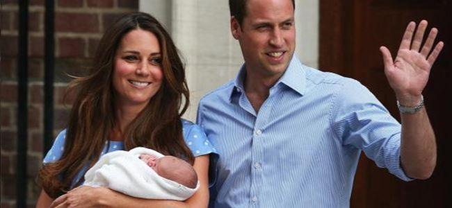 İngiliz kraliyet ailesinin en yeni üyesi kameralarla tanıştı