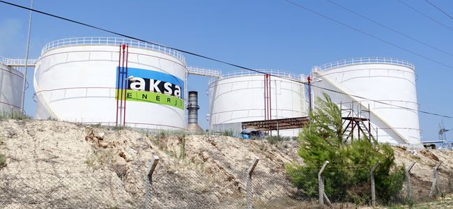AKSA Enerji %1 kükürtlü 30.600 ton yakıtı tahliye etti