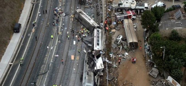 Hızlı trenin makinisti gözaltına alındı