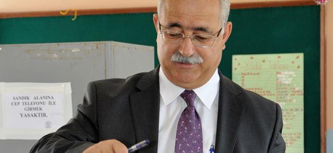 BKP-TVG Genel Başkanı  İzcan oyunu kullandı!