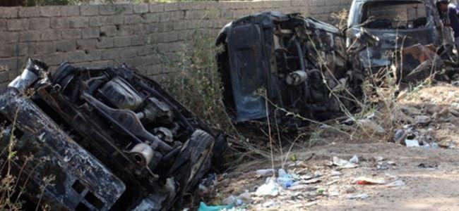10 araç eş zamanlı patlatıldı: 29 ölü
