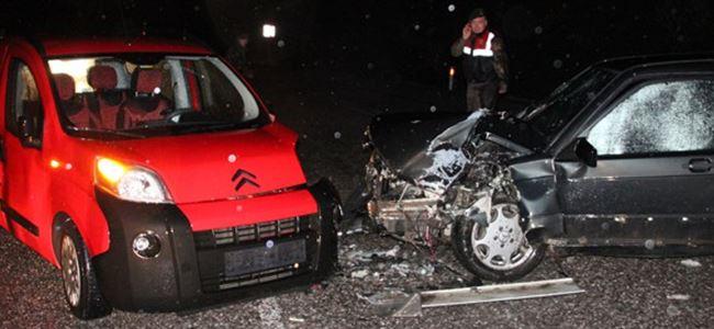 Bir haftada 67 kaza 5 yaralı