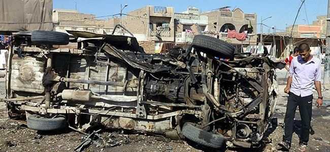 Irak'ta bombalı saldırılarda en az 51 kişi öldü