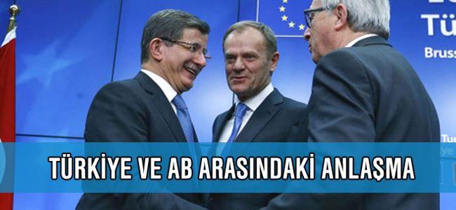 Türkiye Ve AB Arasındaki Anlaşma